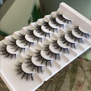 Eyelashes 8 pairs